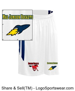Youth Muscle Dri-Gear Basketball Short Design Zoom