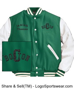 Varsity Jacket by Holloway Design Zoom